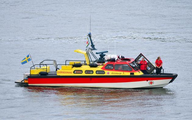 Sjöräddningssällskapets räddningsbåt Österskär